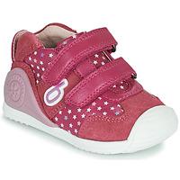 kengät Tytöt Matalavartiset tennarit Biomecanics BIOGATEO SPORT Vaaleanpunainen