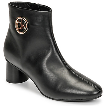 kengät Naiset Bootsit Calvin Klein Jeans CYLINDER ANKLE BOOT Musta
