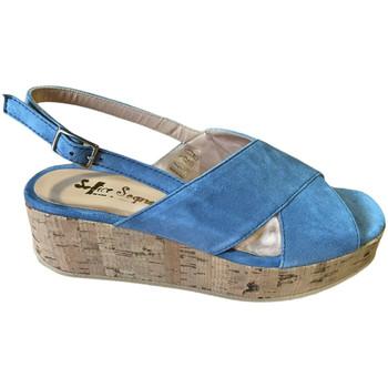 kengät Naiset Sandaalit ja avokkaat Soffice Sogno SOSOE21791sky blu