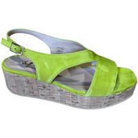 kengät Naiset Sandaalit ja avokkaat Soffice Sogno SOSOE21792lime blu