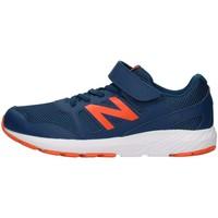 kengät Pojat Matalavartiset tennarit New Balance YT570BO2 BLUE