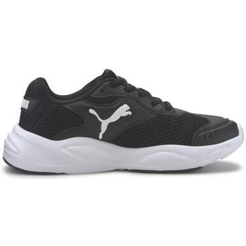 kengät Lapset Matalavartiset tennarit Puma J 90S Runner Mustat