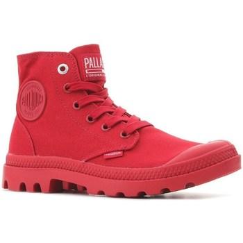 kengät Korkeavartiset tennarit Palladium Pampa HI Mono U Punainen