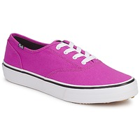 kengät Naiset Matalavartiset tennarit Keds DOUBLE DUTCH SEASONAL SOLIDS Pink