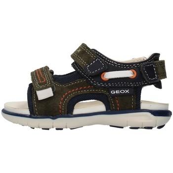 kengät Pojat Urheilusandaalit Geox B154LA02285 GREEN