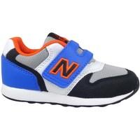 kengät Lapset Matalavartiset tennarit New Balance 996 Harmaat, Vaaleansiniset