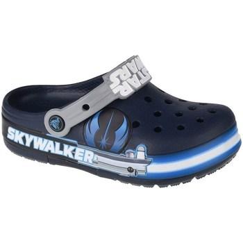 kengät Lapset Vesiurheilukengät Crocs Fun Lab Luke Skywalker Lights K Clog Tummansininen