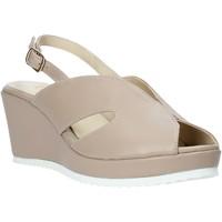 kengät Naiset Sandaalit ja avokkaat Esther Collezioni ZB 115 Beige