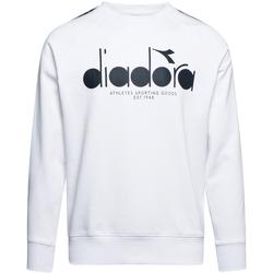 vaatteet Miehet Svetari Diadora 502175376 Valkoinen