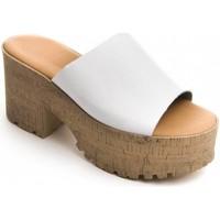 kengät Naiset Sandaalit Purapiel 71174 WHITE