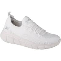 kengät Naiset Matalavartiset tennarit Skechers Bobs Sport B Flex-Color Connect Blanc