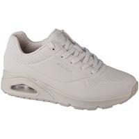 kengät Naiset Matalavartiset tennarit Skechers Uno-Stand on Air Beige