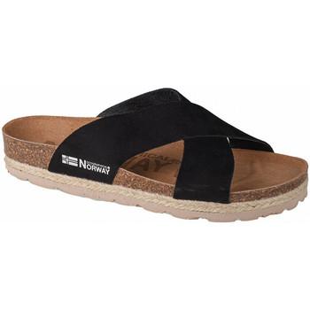 kengät Naiset Sandaalit Geographical Norway Sandalias Bios Tiras Cruzadas Noir