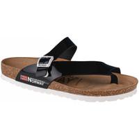 kengät Naiset Varvassandaalit Geographical Norway Sandalias Infradito Donna Noir