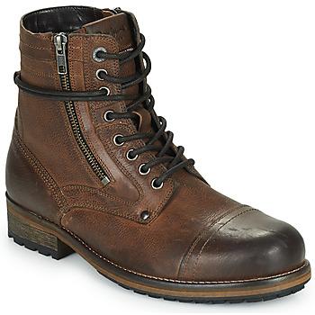 kengät Miehet Bootsit Pepe jeans MELTING HIGH Kamelinruskea