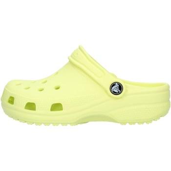 kengät Pojat Puukengät Crocs 204536 Lime green