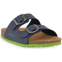 kengät Sandaalit ja avokkaat Grunland BLU LIME 40LUCE Blu