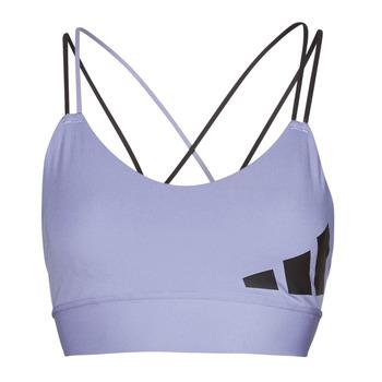 vaatteet Naiset Urheiluliivit adidas Performance AMEBAR Violetti / Kiertorata