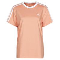 vaatteet Naiset Lyhythihainen t-paita adidas Performance WESBEF Blush / Tunnelmallinen