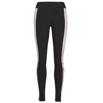 vaatteet Naiset Legginsit adidas Performance WECEBLEG Musta / Vaaleanpunainen