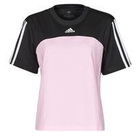 vaatteet Naiset Lyhythihainen t-paita adidas Performance WECBT Musta