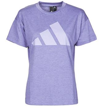 vaatteet Naiset Lyhythihainen t-paita adidas Performance WEWINTEE Kiertorata / Violetti / Mel