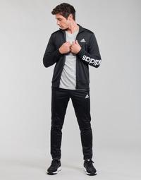 vaatteet Miehet Verryttelypuvut adidas Performance M LIN TR TT TS Musta