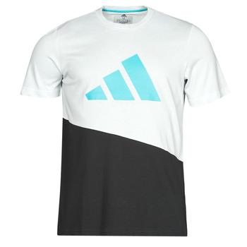 vaatteet Miehet Lyhythihainen t-paita adidas Performance FUTURE BLK TEE Valkoinen
