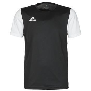vaatteet Miehet Lyhythihainen t-paita adidas Performance ESTRO 19 JSY Musta