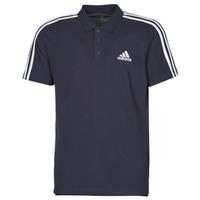 vaatteet Miehet Lyhythihainen poolopaita adidas Performance M 3S PQ PS Muste