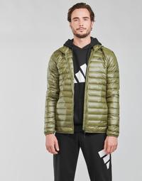 vaatteet Miehet Toppatakki adidas Performance VARILITE JACKET Oliivi / Focus