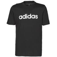 vaatteet Miehet Lyhythihainen t-paita adidas Performance M LIN SJ T Musta