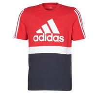 vaatteet Miehet Lyhythihainen t-paita adidas Performance M CB T Ecarlate