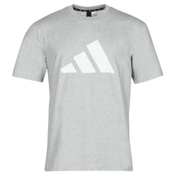 vaatteet Miehet Lyhythihainen t-paita adidas Performance M FI 3B TEE Kanerva / Harmaa