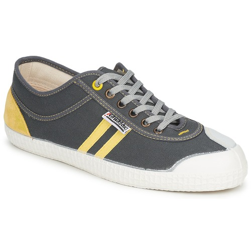 kengät Matalavartiset tennarit Kawasaki RETRO Grey / Yellow