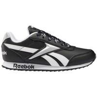 kengät Lapset Matalavartiset tennarit Reebok Sport Royal CL Jogger Valkoiset, Mustat
