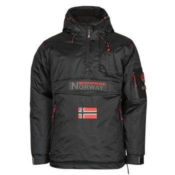 vaatteet Miehet Parkatakki Geographical Norway BARKER Musta