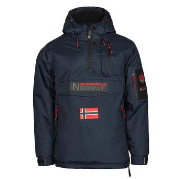 vaatteet Miehet Parkatakki Geographical Norway BARKER Laivastonsininen