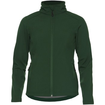 vaatteet Naiset Takit Gildan SS800L Forest Green