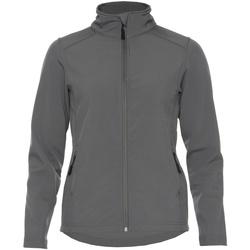 vaatteet Naiset Takit Gildan SS800L Charcoal