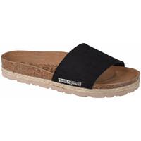 kengät Naiset Sandaalit Geographical Norway Sandalias Baja Verano Noir