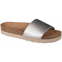 kengät Naiset Sandaalit Geographical Norway Sandalias Baja Verano Argent