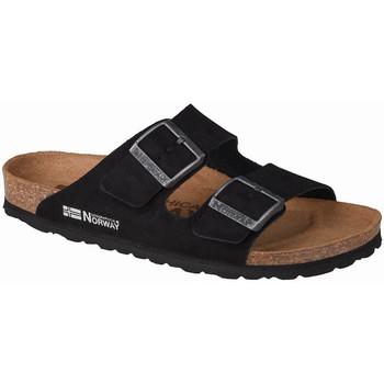 kengät Naiset Sandaalit Geographical Norway Sandalias Bios Doble Hebilla Noir