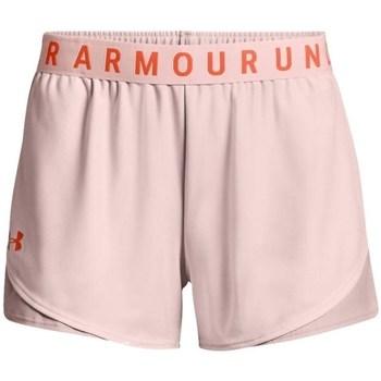 vaatteet Naiset Shortsit / Bermuda-shortsit Under Armour Play UP Short 30 Vaaleanpunaiset
