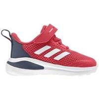 kengät Lapset Juoksukengät / Trail-kengät adidas Originals Fortarun K Punainen, Harmaat