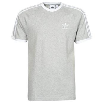 vaatteet Miehet Lyhythihainen t-paita adidas Originals 3-STRIPES TEE Kanerva / Harmaa