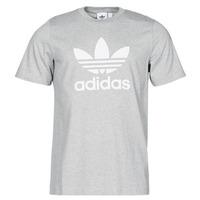 vaatteet Miehet Lyhythihainen t-paita adidas Originals TREFOIL T-SHIRT Kanerva / Harmaa