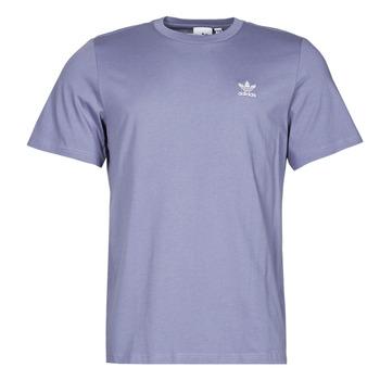 vaatteet Miehet Lyhythihainen t-paita adidas Originals ESSENTIAL TEE Violetti / Kiertorata