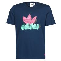 vaatteet Miehet Lyhythihainen t-paita adidas Originals 6 AS TEE Sininen / Laivastonsininen