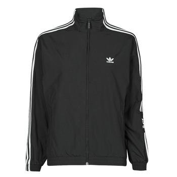 vaatteet Naiset Ulkoilutakki adidas Originals TRACK TOP Musta